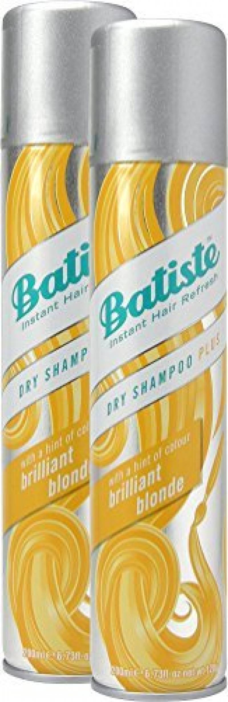 Batiste Shampooing sec (Lot de 2)–Shampooing sec–Color Blond (2x 200ml) de la marque Batiste TOP 2 image 0 produit