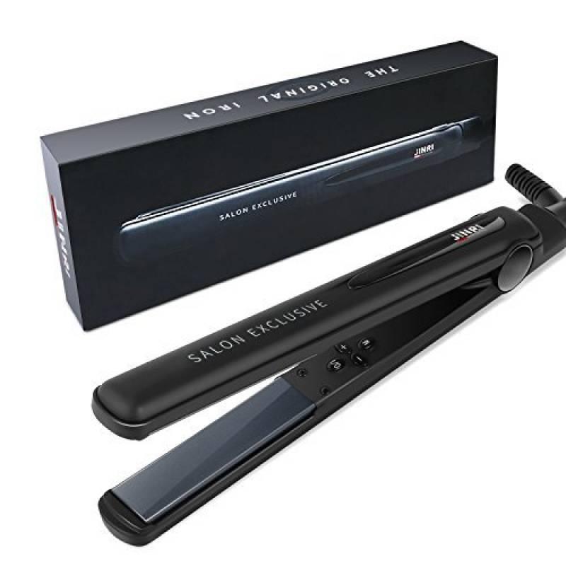 BESTOPE Fer à lisser professionnel lisseur cheveux céramique avec LED digital et température réglable, 137 °C.-233°C, Auto-arrêt , résistant à la chaleur de la TOP 8 image 0 produit