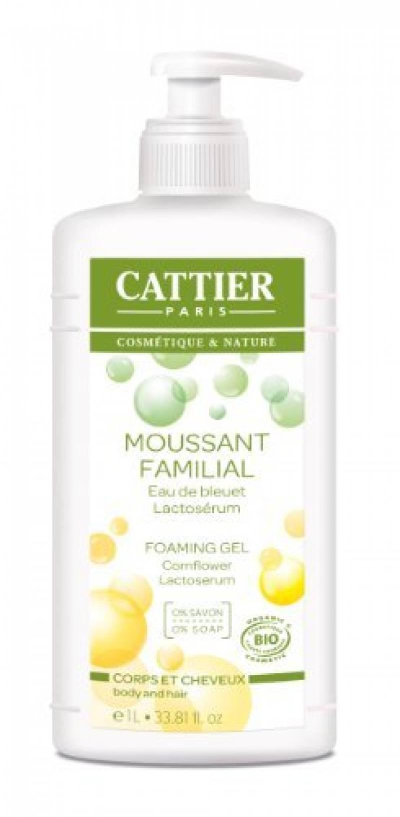 Cattier Moussant Familial au Lactosérum 1 L de la marque CATTIER TOP 7 image 0 produit