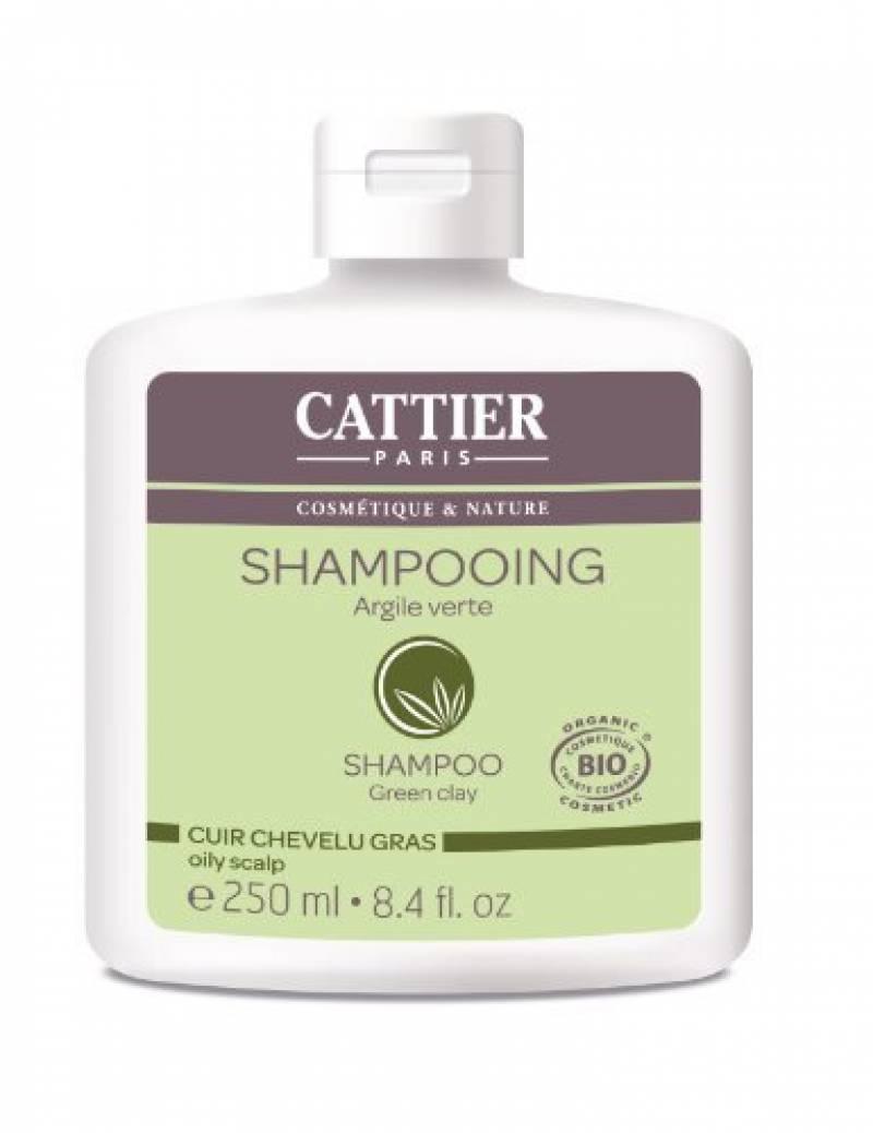 Cattier Shampooing Cheveux Gras Argile Verte 250 ml Lot de 2 de la marque CATTIER TOP 8 image 0 produit