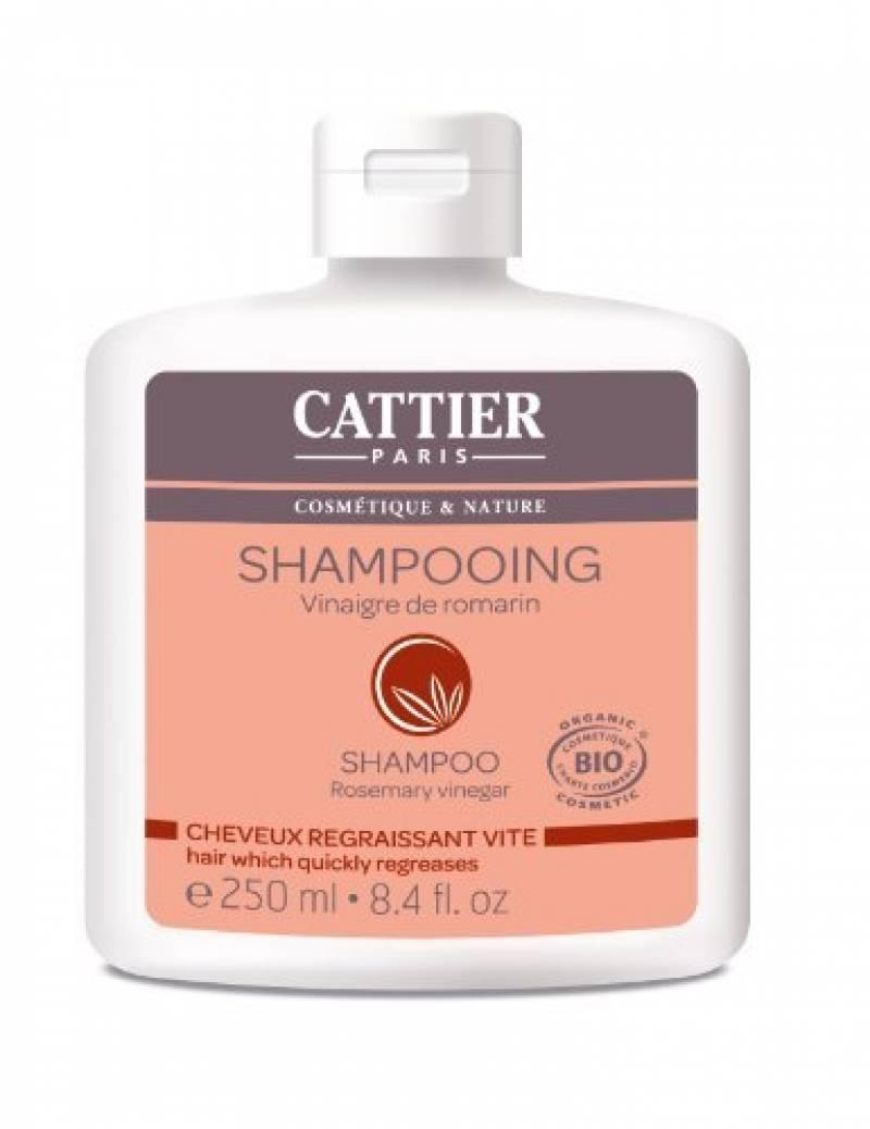 Cattier Shampooing Cheveux Gras Vinaigre de Romarin 250 ml Lot de 2 de la marque CATTIER TOP 9 image 0 produit