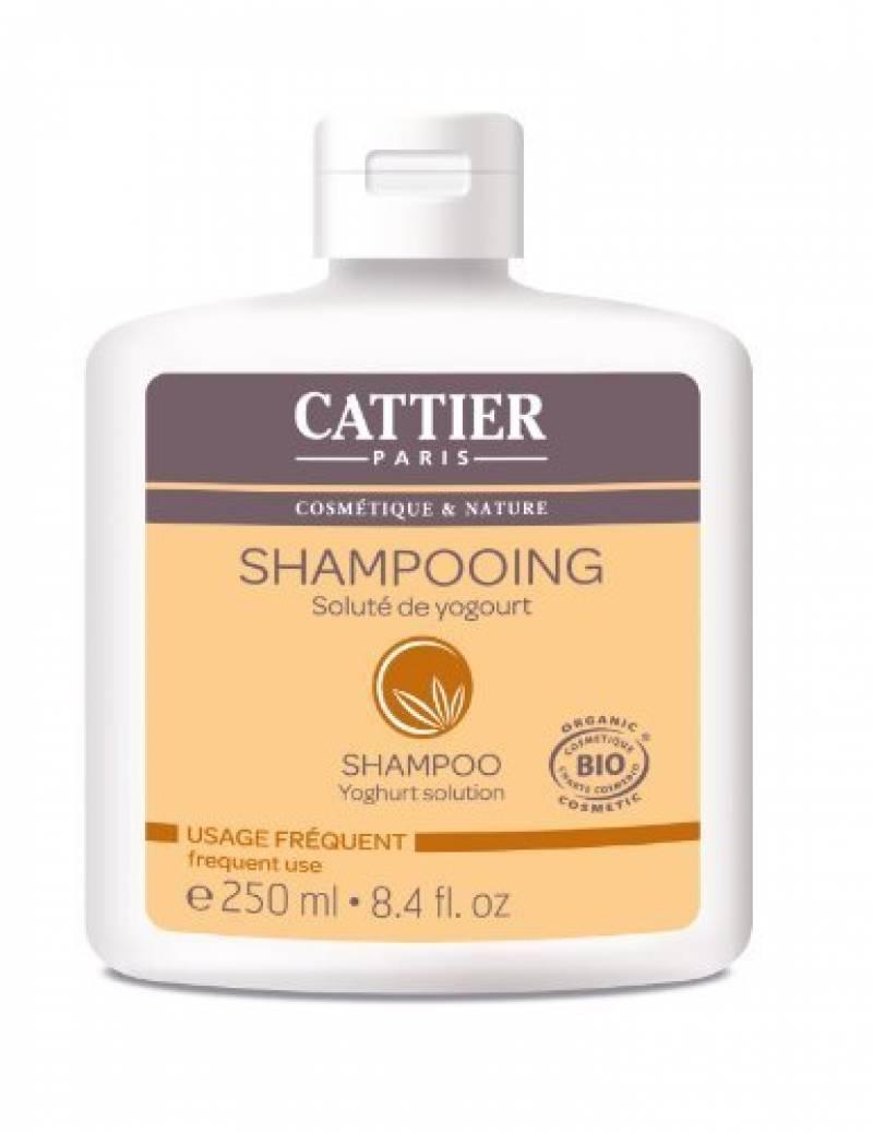 Cattier Shampooing Usage Fréquent Soluté de Yogourt 250 ml Lot de 2 de la marque CATTIER TOP 6 image 0 produit
