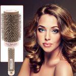 CkeyiN Nano thermique céramique ionique - Brosse Cheveux Ronde - 5 tailles(19mm / 25mm / 32mm / 45mm / 53mm) - Poignée doux et anti-dérapant Pour Séchage, Coiff TOP 11 image 1 produit