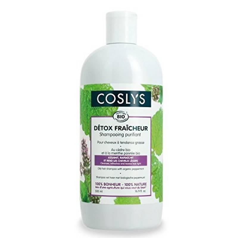 Coslys Shampooing Cheveux Gras a la menthe poivree bio de la marque Coslys TOP 9 image 0 produit