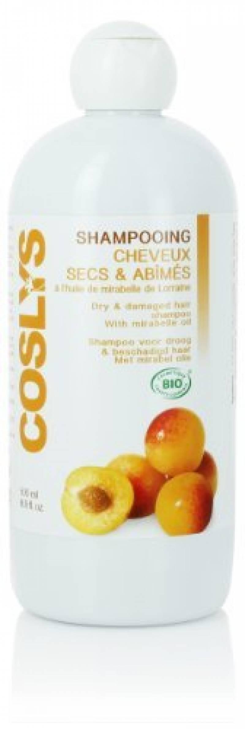 Coslys Shampooing Cheveux Secs et Abîmés à la Mirabelle 500 ml de la marque Coslys TOP 7 image 0 produit