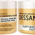 Dessange - Nutri-Extrême Richesse Masque Concentré de Nutrition Pour Cheveux Rêches, Très Desséchés ou Ternes - 250 ml - Lot de 2 de la marque Dessange TOP 2 image 0 produit