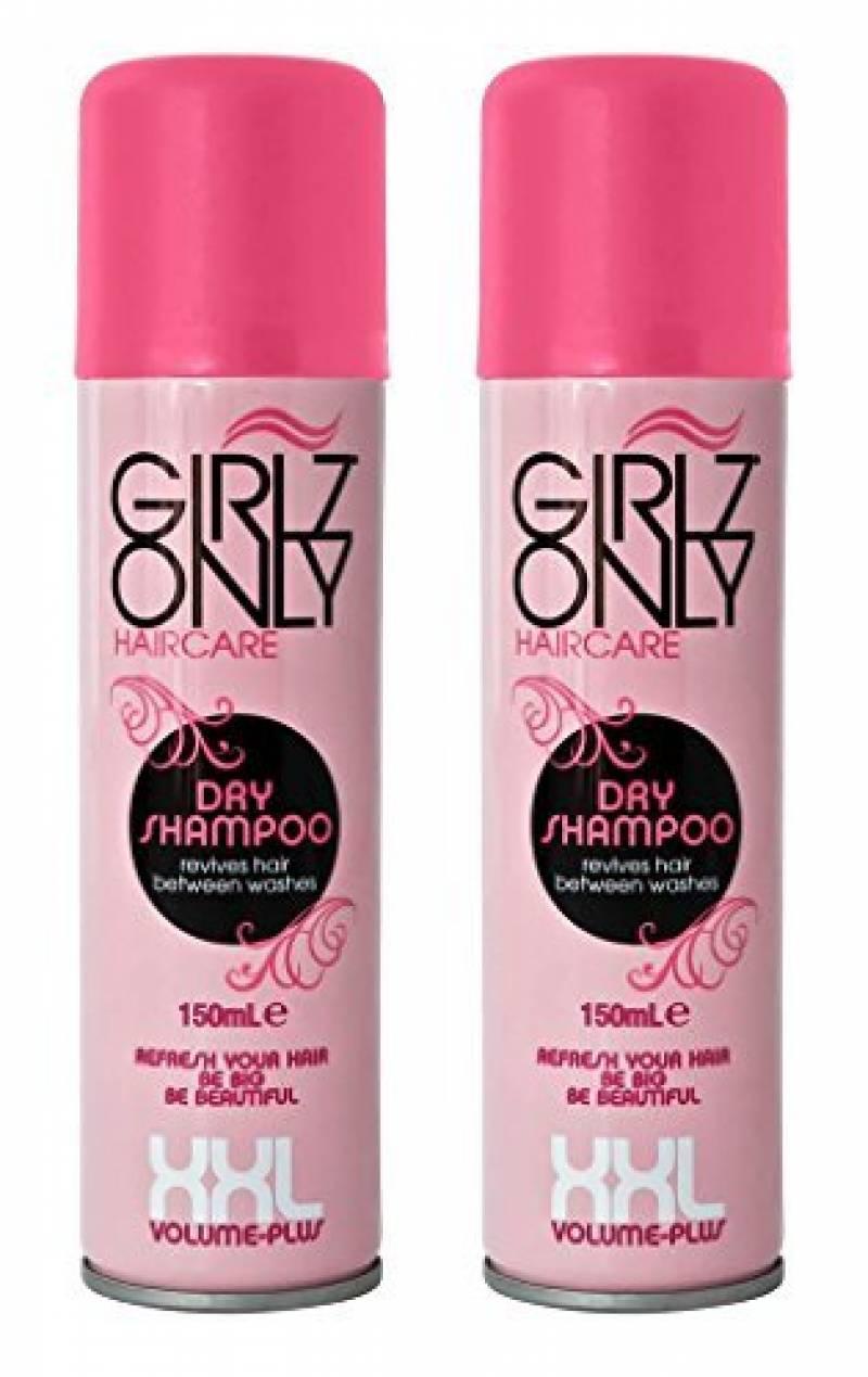 GIRLZ ONLY Shampooing Sec Spécial Volume 150 ml - Lot de 2 de la marque GIRLZ ONLY TOP 1 image 0 produit