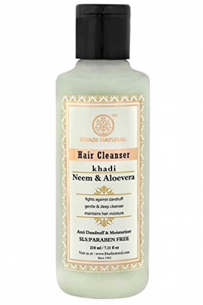 Khadi Herbal Shampooing Neem & Aloe Vera lutte contre les pellicules sans SLS & sans paraben 210ml/7.10FL OZ de la marque Khadi TOP 3 image 0 produit