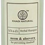 Khadi Herbal Shampooing Neem & Aloe Vera lutte contre les pellicules sans SLS & sans paraben 210ml/7.10FL OZ de la marque Khadi TOP 3 image 2 produit