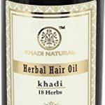 Khadi–Huile 18Herbes Herbal ayurvédique cheveux–210ml de la marque Khadi TOP 1 image 0 produit