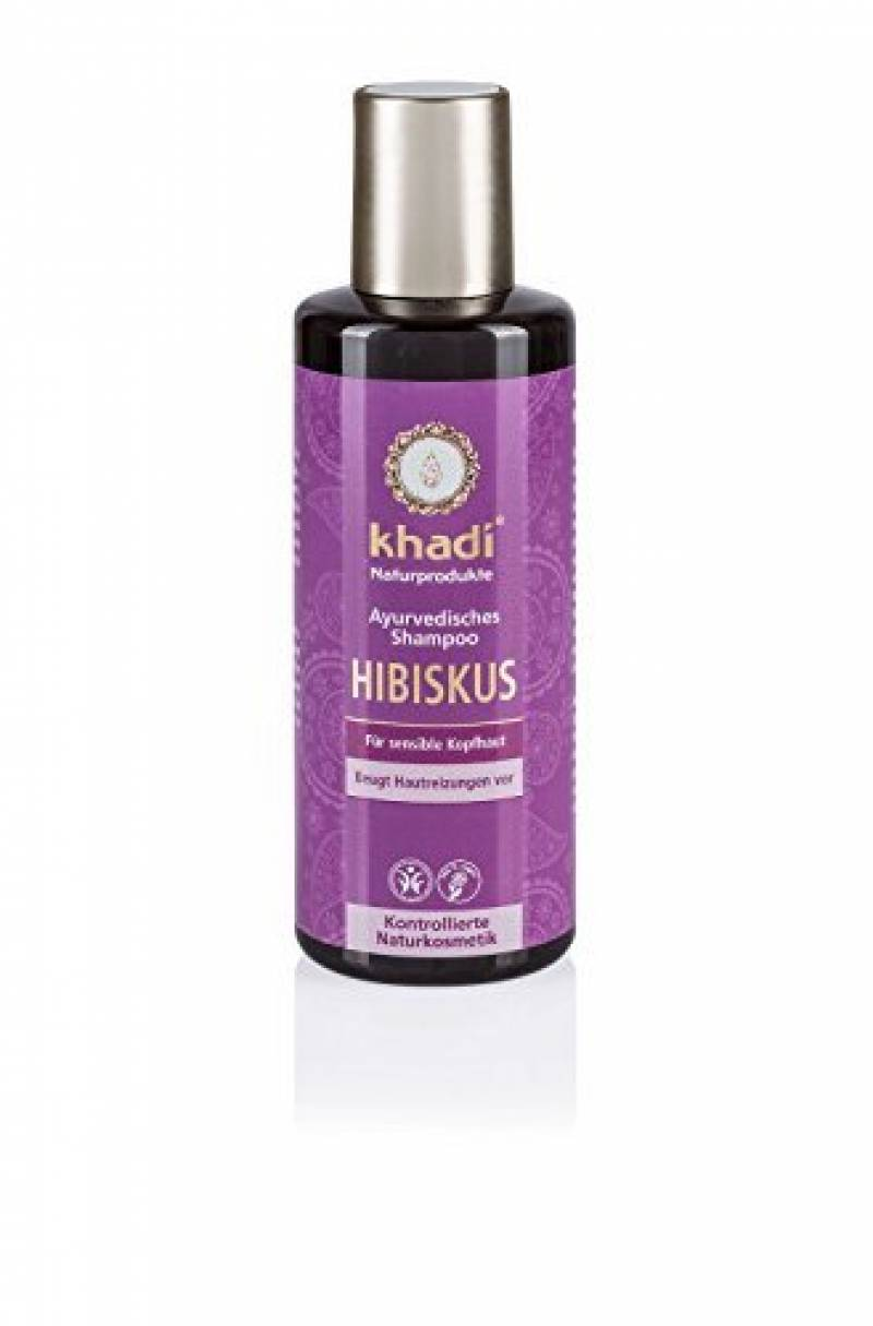 KHADI Shampooing ayurvédique Hibiscus Cuir chevelu sensible - 210ml de la marque Khadi TOP 6 image 0 produit