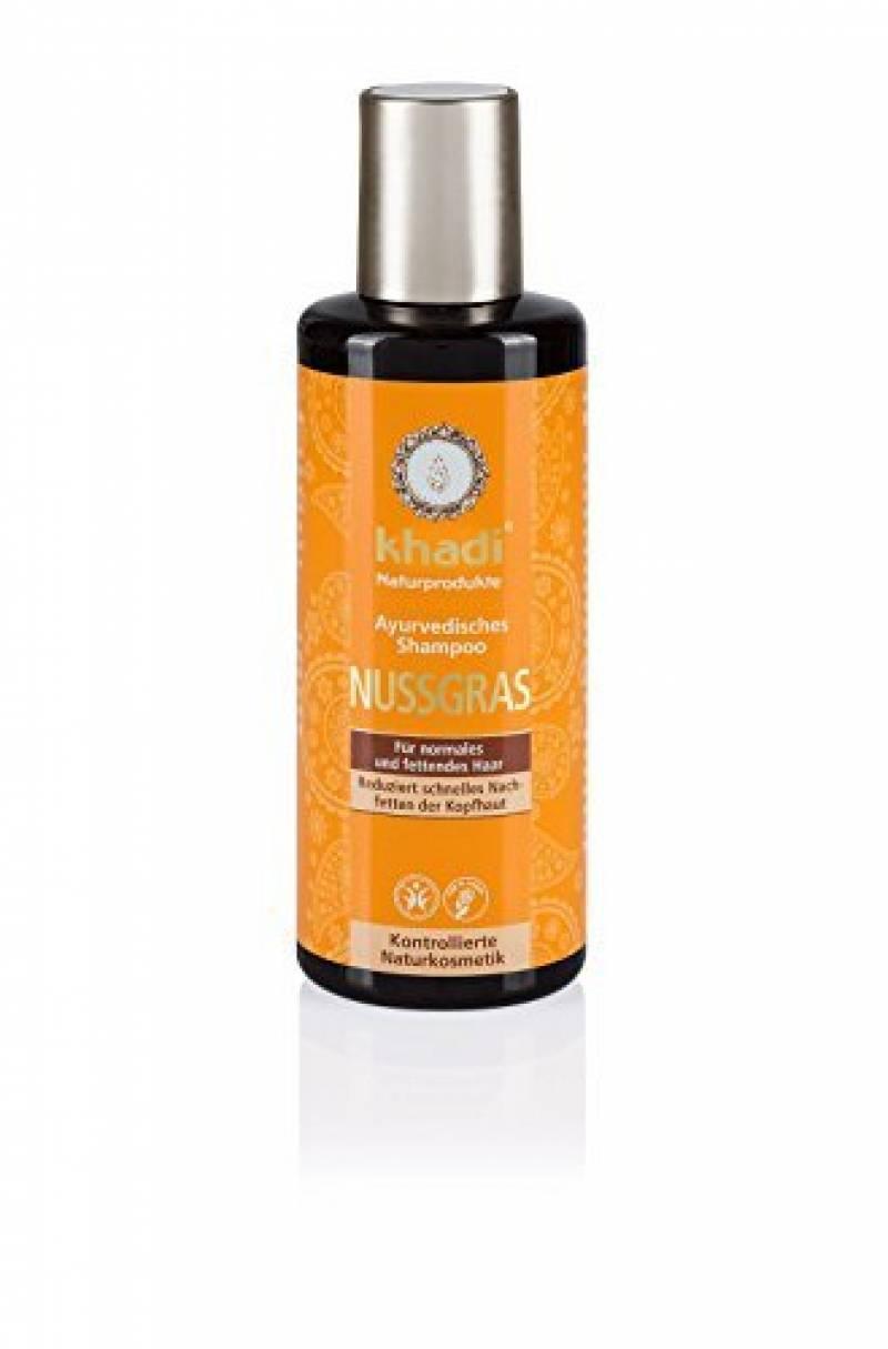 KHADI Shampooing ayurvédique souchet Cheveux Normaux à Gras - 210ml de la marque Khadi TOP 7 image 0 produit