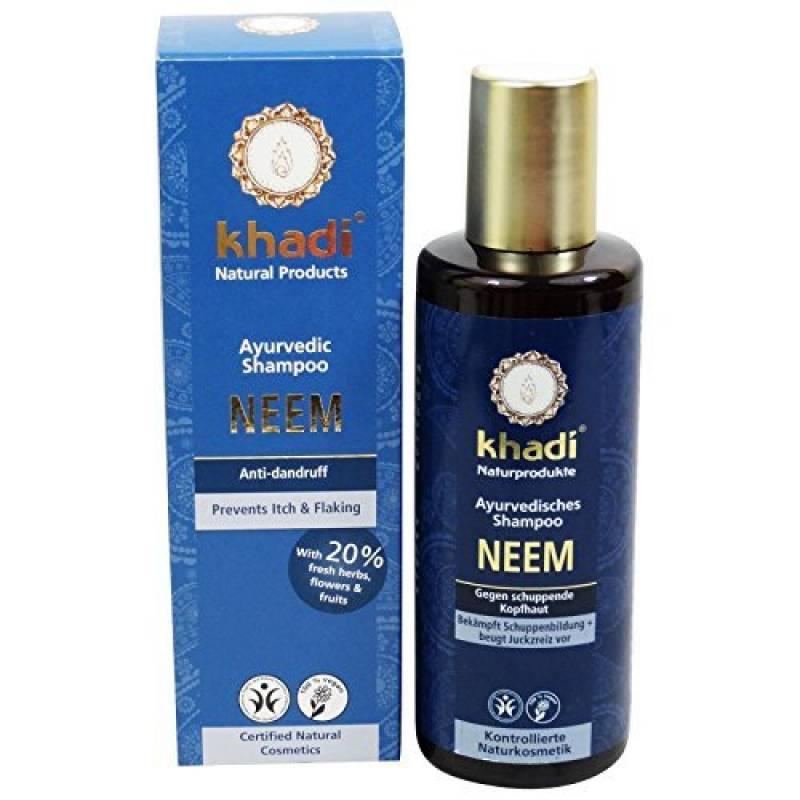 Khadi Shampooing margousier ANTIFORFORA antibactérien cheveux gras de la marque Yumi Bio Shop TOP 4 image 0 produit