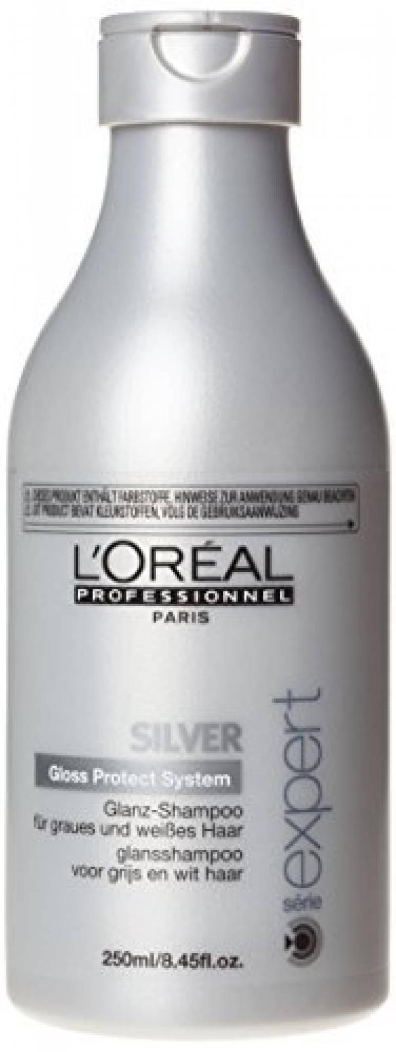 L'Oréal Professionnel - Shampooing Eclat pour Cheveux Gris et Blancs - Silver - 250ml de la marque L'Oréal Professionnel TOP 11 image 0 produit