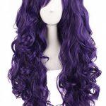 """MapofBeauty 28""""/70cm Longue Bouclé Femmes Tressé Perruques (Violet) de la marque MapofBeauty TOP 6 image 0 produit"""
