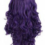 """MapofBeauty 28""""/70cm Longue Bouclé Femmes Tressé Perruques (Violet) de la marque MapofBeauty TOP 6 image 1 produit"""