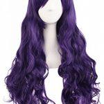 """MapofBeauty 28""""/70cm Longue Bouclé Femmes Tressé Perruques (Violet) de la marque MapofBeauty TOP 6 image 2 produit"""