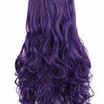 """MapofBeauty 28""""/70cm Longue Bouclé Femmes Tressé Perruques (Violet) de la marque MapofBeauty TOP 6 image 3 produit"""