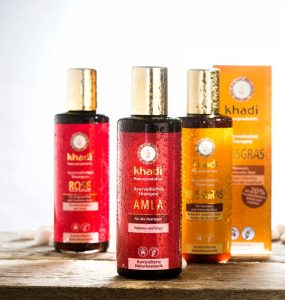 Shampooing Khadi : profitez des produits capillaires ayurvédiques à petit prix principale