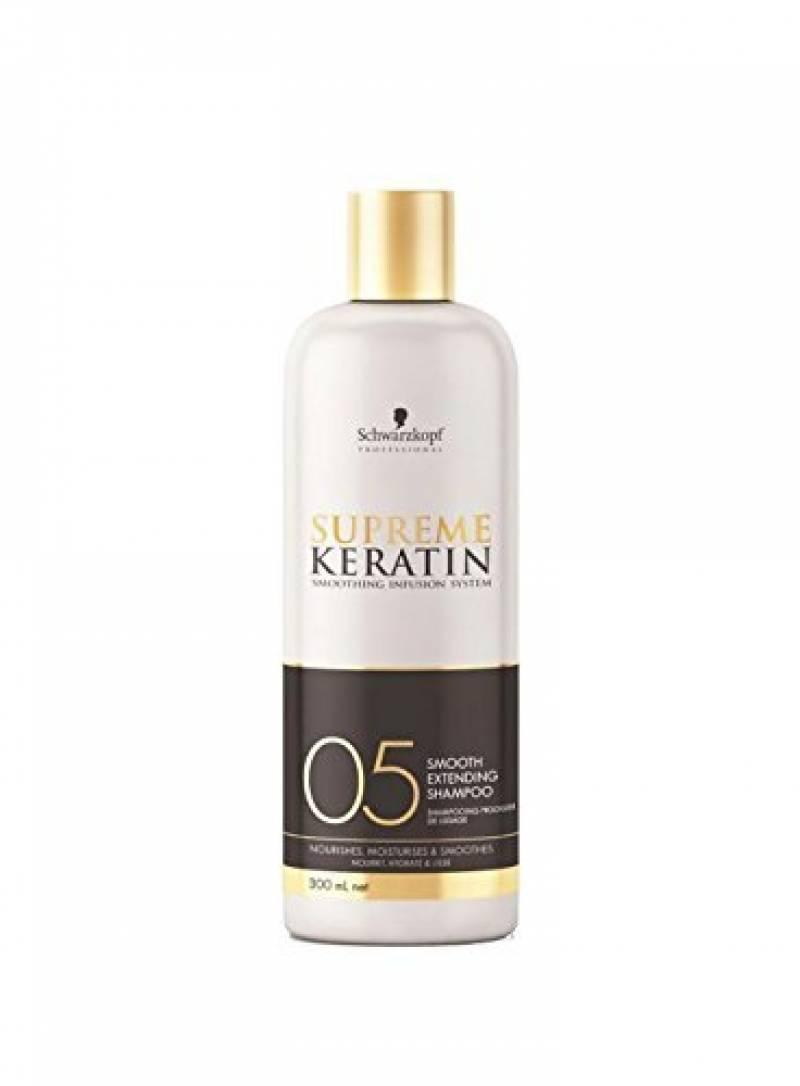 supreme keratin shampoing prolongateur de lissage 05 300ml de la marque Schwarzkopf TOP 1 image 0 produit