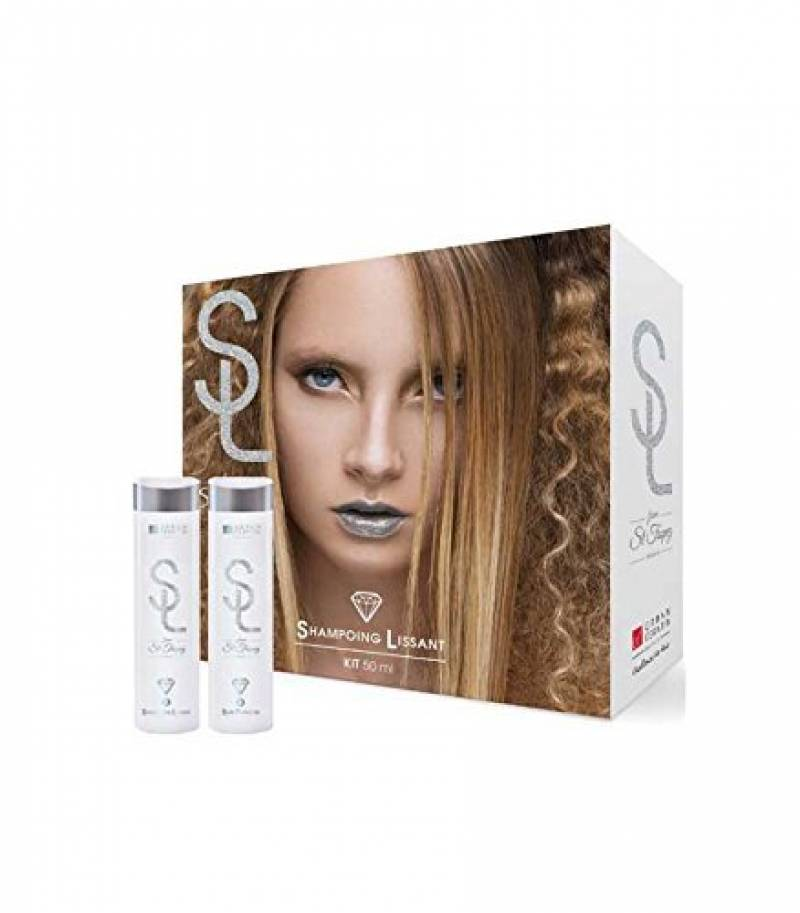 Urban Keratin - Shampooing Lissant Kit 2 X 50ML A La Poudre De Diamant de la marque Urban Keratin TOP 9 image 0 produit