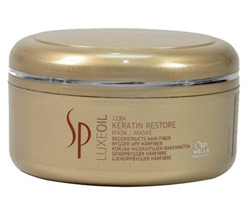 Wella Professionals - Masque Réparateur pour Cheveux Abimés - Luxe Oil Keratin Restore Mask - 150 ml de la marque Wella TOP 8 image 0 produit