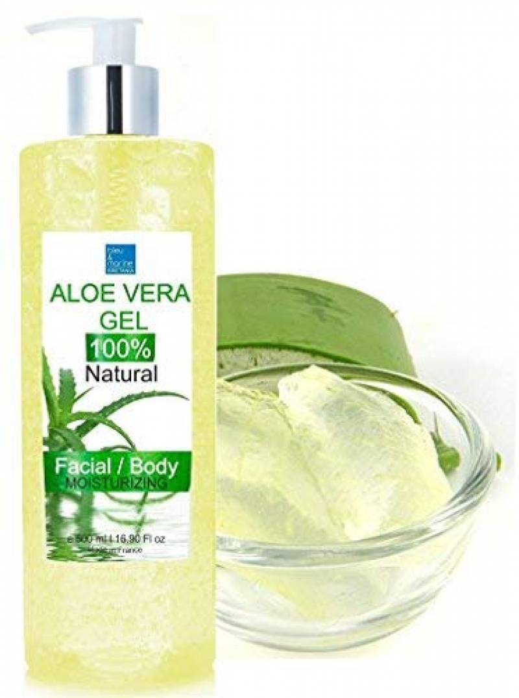 100% Natural Gel d'Aloe Vera 500 ml Excellent hydratant Visage & Corps Cheveux - Calmant Aprés Epilation de la marque bleumarine Bretania TOP 1 image 0 produit