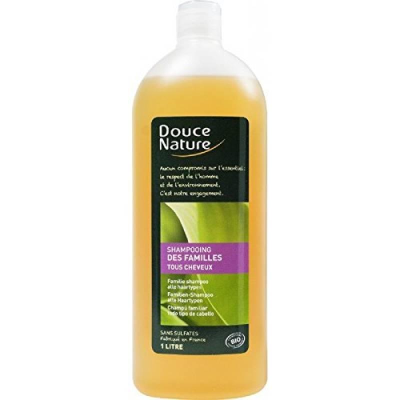 Douce Nature - PRI 4804 - Hygiène Cheveux Bio - Shampoing Familles Ortie Palmarosa - 1 l de la marque Douce Nature TOP 5 image 0 produit
