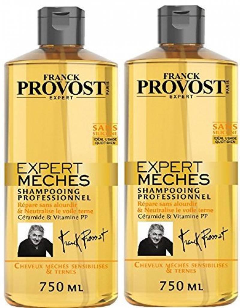 Franck Provost - Expert Mèches Shampooing Professionnel Réparateur Raviveur d'Eclat 750 ml - Lot de 2 de la marque Franck Provost TOP 1 image 0 produit