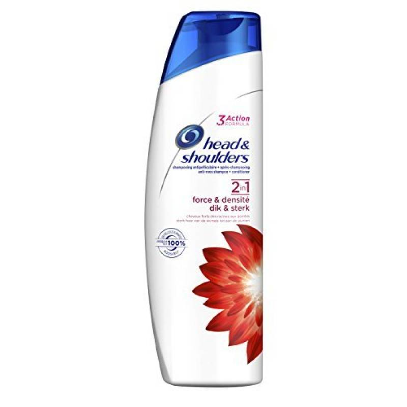 Head & Shoulders Shampooing Antipelliculaire 2 en 1 Force/Densité 255 ml - Lot de 3 de la marque Head & Shoulders TOP 1 image 0 produit