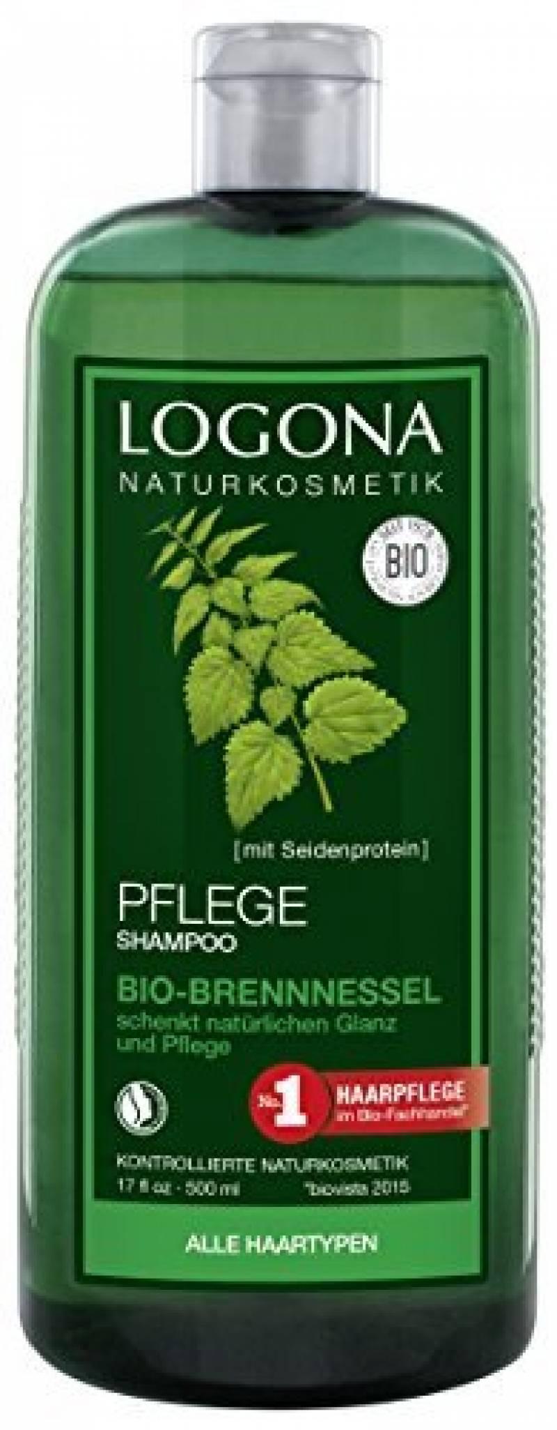 Logona - 1003shabri5 - Soin et Beauté du Cheveu - Shampooing Brillance à l'Ortie - 500 ml de la marque Logona TOP 4 image 0 produit