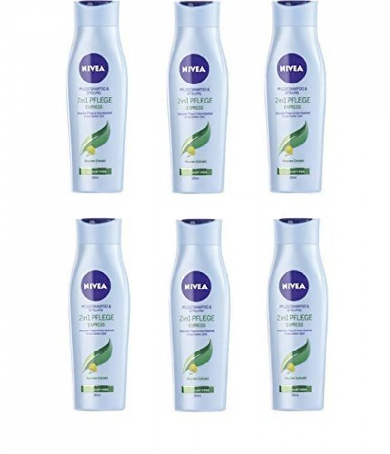 Nivea Shampoing 250ml 2en 1Express, pack de 6x 250ml) de la marque NIVEA TOP 3 image 0 produit