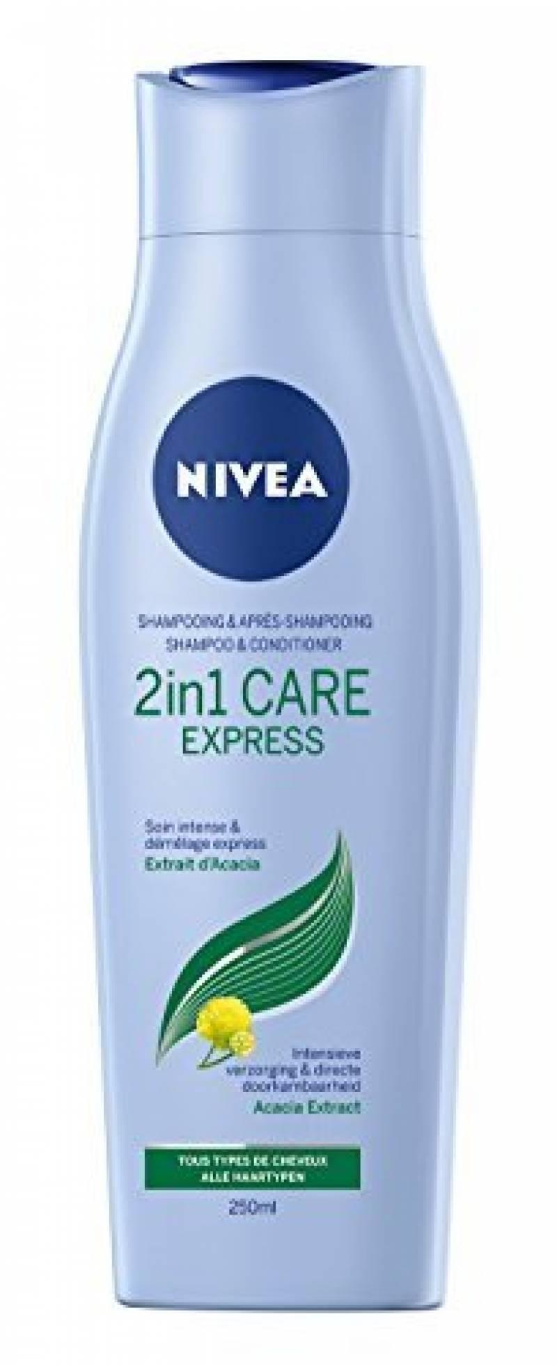 NIVEA Shampooing 2en1 Care 250ml - Lot de 3 de la marque NIVEA TOP 2 image 0 produit