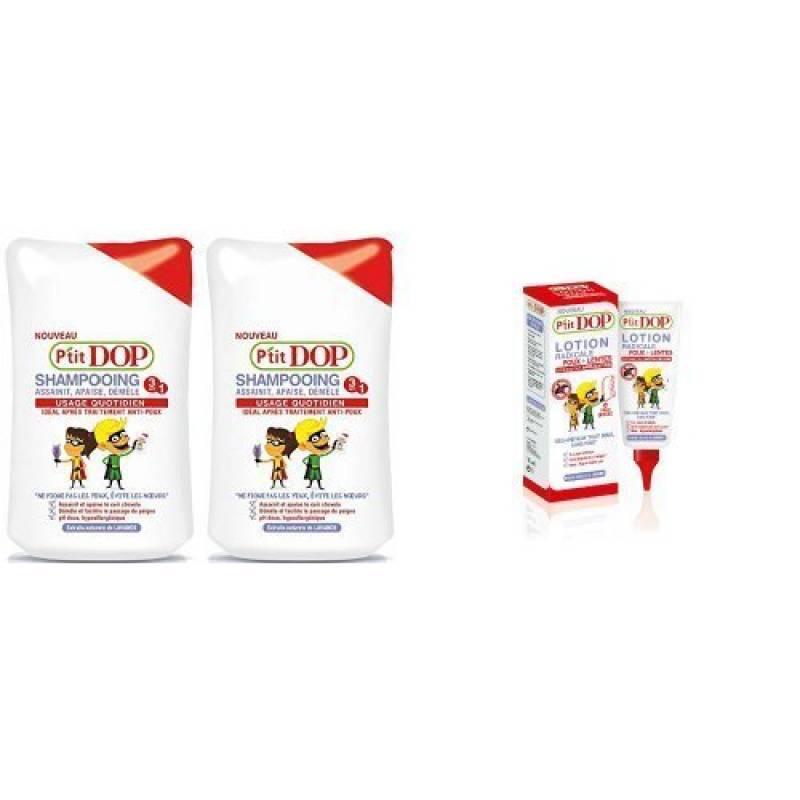P'tit DOP pack Anti Poux : shampooing + lotion de la marque TOP 3 image 0 produit