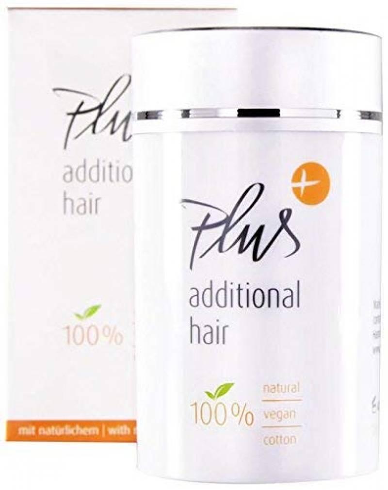 Plus des cheveux supplémentaires cheveux filler - cheveux en vrac - cheveux errants - épaississement des cheveux - fibres capillaires - Effet immédiat - 100% vé TOP 3 image 0 produit