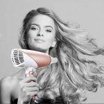 Bestope Sèche cheveux ionique de voyage pliable avec diffuseur ThermoProtect 1800W Or Rose/Blanc de la marque BESTOPE TOP 5 image 5 produit