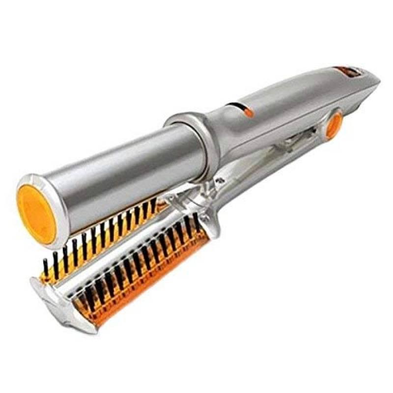 Bigoudis céramique thermostat Sec et humide brosse à cheveux fer en rotation lisseur Fers à boucler 2-in-1 de la marque MHHKK TOP 1 image 0 produit