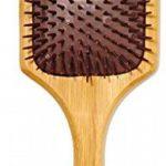 Brosse à Cheveux Pagaie en Bambou Infusée à l'Huile d'Argan Pure Tout Simplement Magnifique. Infusé à l'Huile d'Argan 100% pour Améliorer Éclat, TOP 1 image 1 produit
