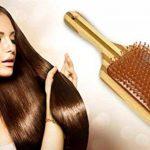 Brosse à Cheveux Pagaie en Bambou Infusée à l'Huile d'Argan Pure Tout Simplement Magnifique. Infusé à l'Huile d'Argan 100% pour Améliorer Éclat, TOP 1 image 4 produit