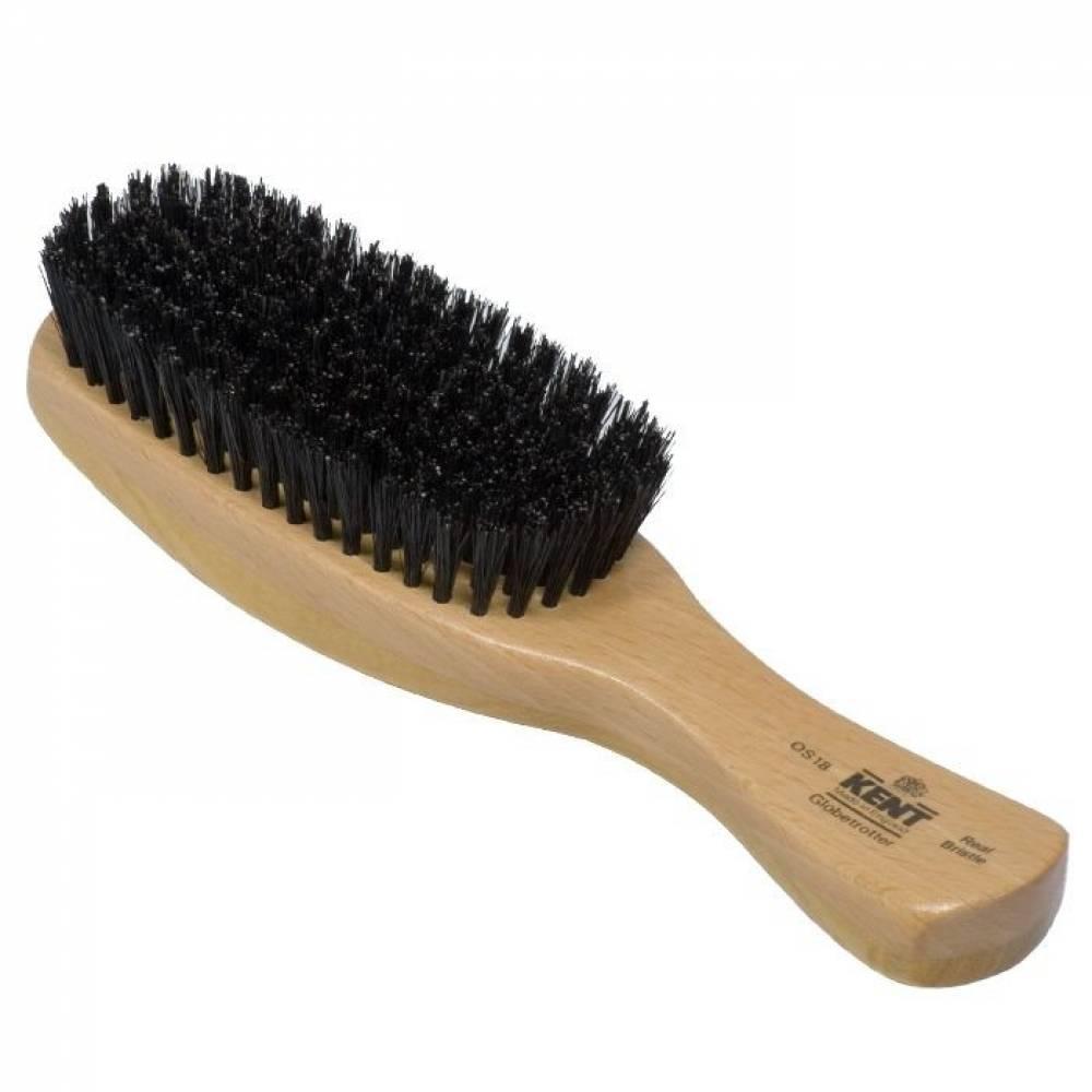 Brosse pour cheveux homme noir