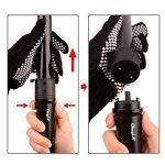CkeyiN 5 en 1 Fer à Boucler 85W Noir (09-19mm / 19-19mm / 20-25mm / 25-25mm/32-32mm) + Gant Noir (EU Plug Prise) de la marque Ckeyin TOP 13 image 2 produit