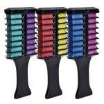 Elera Brosse des Cheveux Teints Temporaire Peigne Coloration Portable à la Maison ou dans les Salons de Beauté 3 ensemble de la marque ELERA TOP 1 image 0 produit