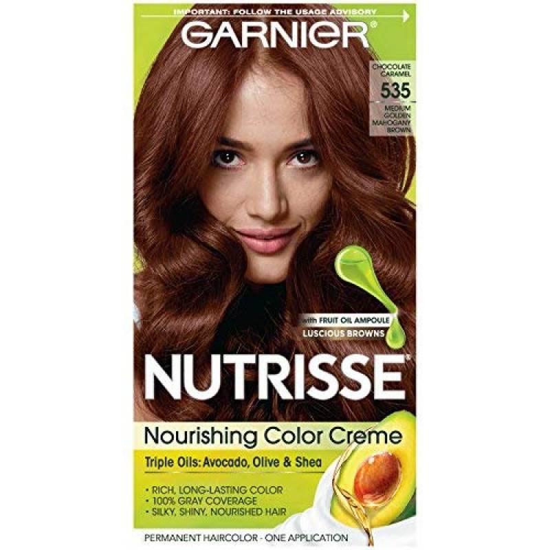 Garnier Crème colorante Nutrisse Cream - Une couleur exceptionnellement riche et durable - Enrichie d'huiles d'avocat et de pépins de raisin - 535 Choco TOP 4 image 0 produit