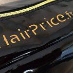 Hairprice - Trousse Glossy Noire De Rangement Pour Fer à Lisser Steampod L'oreal Rowenta Pour Vos Déplacement Et Voyage de la marque hairprice TOP 4 image 1 produit