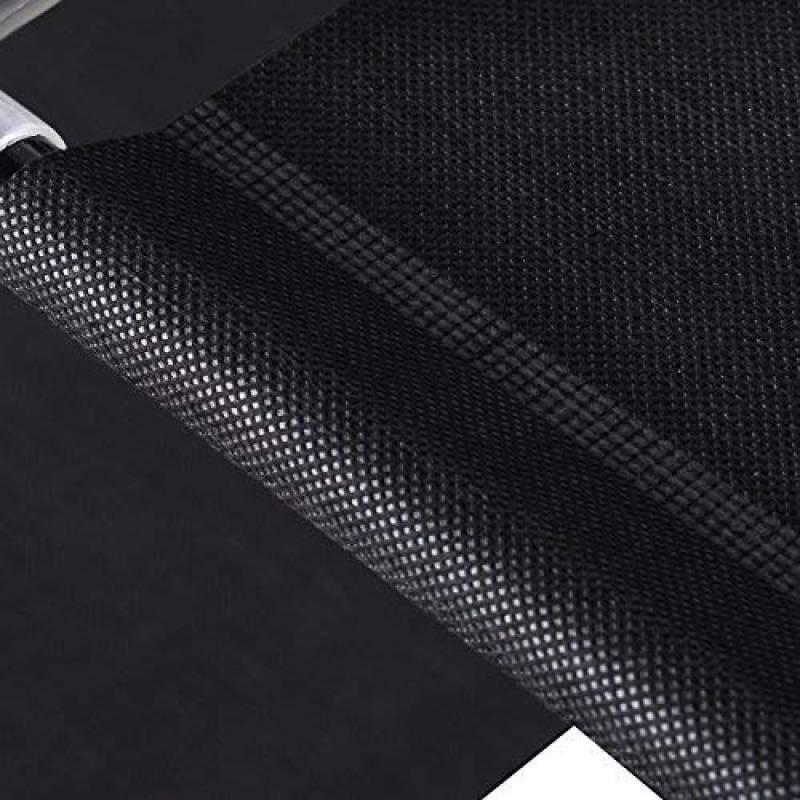 Harima Keep Penderie de rangement double à 2 portes pour vêtements Toile non-tissée légère et rail Noir Inclus avec 5 Cintres de la marque Harima TOP 4 image 0 produit