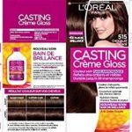 L'Oréal Paris Casting Crème Gloss Coloration Ton Sur Ton Sans Ammoniaque 5.15 Chocolat Glacé Lot de 2 de la marque Casting Crème Gloss TOP 6 image 1 produit