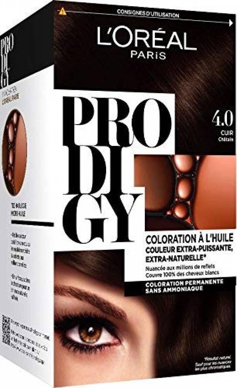 L'Oréal Paris Prodigy Coloration Permanente à l'Huile Sans Ammoniaque 5,0 Chatain Clair de la marque Prodigy TOP 2 image 0 produit
