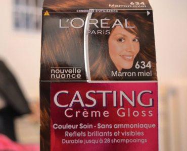 Les colorations de la marque L'Oréal principale
