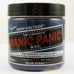 Manic Panic Classic Coloration Semi-Permanente Couleur Intense 118ml (Blue Steel - Bleu Acier) de la marque Manic Panic Hair Dye TOP 3 image 0 produit