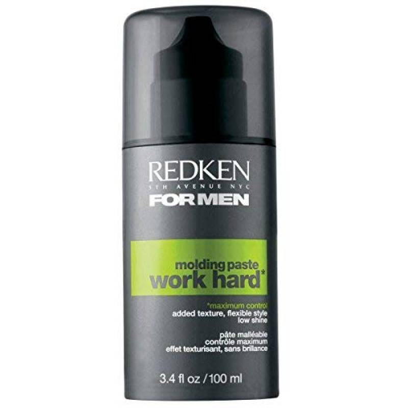 Redken - Pâte Malléable pour Cheveux - Tenue Forte - Work Hard Molding Paste for Men - 100 ml de la marque Redken TOP 4 image 0 produit